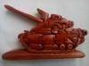 Деревянный пазл танк Т32